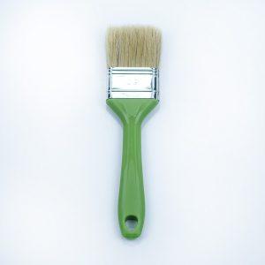 Pennellessa Manico Plastica Verde Bandiera